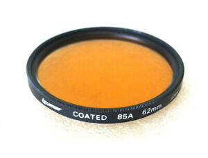 62mm Izumar 85A Filter - Warm Color Correction - PERFECT LN