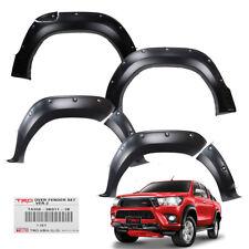 """Fender Flares Wheel Arch 6"""" V2 Black Genuine Fits Toyota Hilux Revo 15 - 17"""