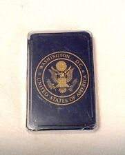 Silberne Playing Cards Washington DC Souvenir Great Seal of the US Complete Deck