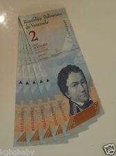 5 x Uncirculated BANKNOTES VENEZUELA REPUBLIC Consecutive Serial Numbers