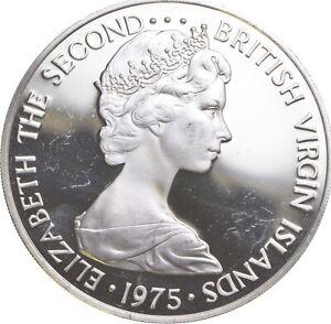 Better - 1975 British Virgin Islands 1 Dollar - TC *483