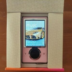 Microsoft Zune 30 GB Limited Edition Pink (RARE!)