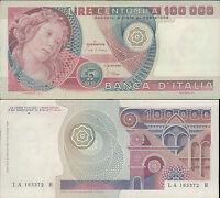 100.000 LIRE BOTTICELLI DEC.10/05/1982  SPL