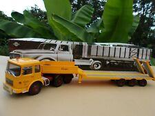 SAVIEM SM 340  6x4 camion semi remorque PORTE ENGINS GUELPA 73  1/43 Neuf Boite