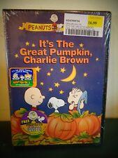 PEANUTS IT'S THE GREAT PUMPKIN CHARLIE BROWN DVD W/ TRICK OR TREAT BAG NEW