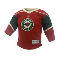 Minnesota Wild NHL Reebok Toddler Hockey Jersey 2T-4T New With Tags