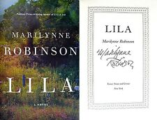 Marilynne Robinson~SIGNED~Lila~1st/1st+Photos! 2014 National Book Award Finalist