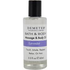 Lavender by Demeter for Unisex - 2 oz Massage & Body Oil