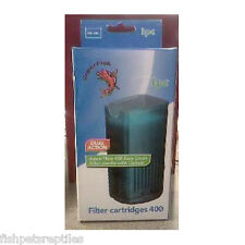 Aquarium Aqua Flow 400 Spare Cartridge 2 Units SuperFish