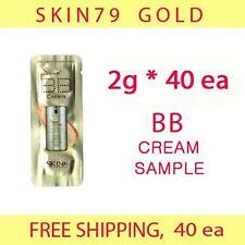 SKIN79 SKIN 79 Gold BB Cream Sample 80g (2g*40ea) - null fair light (20g x4)