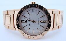 Ladies BVLGARI BULGARI 18K Yellow Gold Automatic Watch 50% OFF DISCOUNT