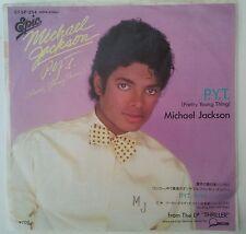 """Michael Jackson P.Y.T Single 7"""" Japón 1989"""