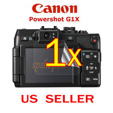 1x Canon PowerShot G1X Camera Clear LCD Screen Protector Guard Shield Film