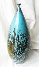 Vase en céramique D'Art Signé.