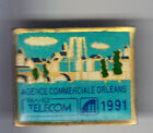 RARE PINS PIN'S .. PTT LA POSTE FRANCE TELECOM AGENCE COMMERCIALE ORLEANS 45 ~BS