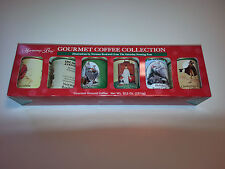 Harmony Bay Coffee Norman Rockwell Saturday Evening Post Christmas Set of 6 Tins