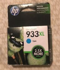 HP933XL CYAN CN054AN 2015 Genuine OEM Factory Sealed Original HP 933XL 933 xl