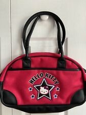 NWOT 2001  Hello Kitty Sanrio Purse Bag Handbag Tote Red And Black