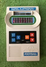 Vintage 1977 Mattel Electronics Football Game WORKS Excellent Condition!