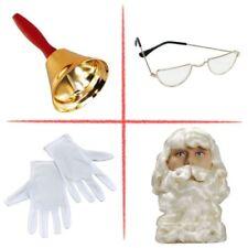 Parrucche e barbe in plastica per carnevale e teatro, tema natale