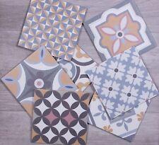 TILE SAMPLES Jerusalem Patchwork Patterned Moroccan Porcelain Wall & Floor Tiles