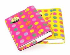 2018 A6 Day to Page Leather Organiser Appointment Office Desk Diary Zebra