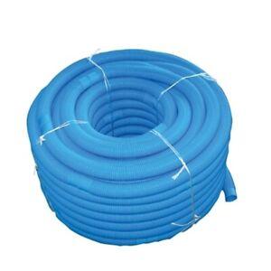 12 mtr. Poolschlauch Schwimmschlauch d = 38mm für Pool Schwimmbad blau