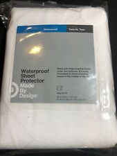 Waterproof Sheet Protector Mattress Protector XL Twin White Made By Design
