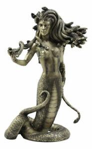 Greek Demonic Goddess The Temptation Of Medusa Statue Luring Gorgon's Gaze