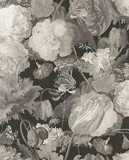 Tapete Eijffinger Masterpiece 358001 / Tapete Floral Blumen Grau / 8,99 €/qm