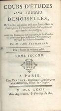 Cours d'études des Jeunes Demoiselles/Abbé Fromageot/Tome 2/Histoire/1772