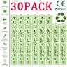 30x AA 700mAh Rechargeable Batteries NiCd 1.2v for Garden Solar Ni-Cd Lamp Light