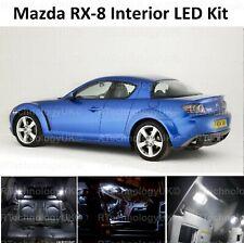 PREMIUM Mazda RX-8 Interior LED INTERIOR UPGRADE LIGHT KIT SET XENON WHITE