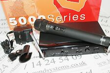 TOA WS5225 UHF hand radio microphone system. Channel 70 lisence free system