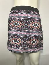 American Eagle Outfitters Aztec Print Mini Skirt Size 8