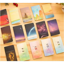 6pcs New Mini Cute Journal Diary Notebook With Lined Paper Vintage Retro Notepad