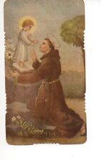 667 S. Antonio di Padova  Santino  Holycard