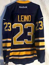 Reebok NHL Jersey Buffalo Sabres Ville Leino Navy sz L