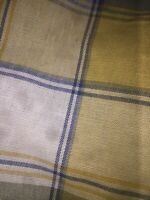 "Longaberger Liner in Cornflower Plaid, ""MEDIUM BOARDWALK"" for your Basket, NEW"