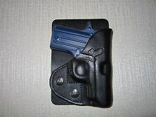 SIG SAUER P238 Black leather LEFT HAND, wallet and pocket holster