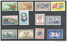NEW ZEALAND, 1955-62, six complete sets fine MM (D)