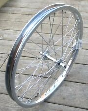 """Front Bicycle 20"""" Wheel 5/16 Axle Chrome Steel 36 Hole New"""