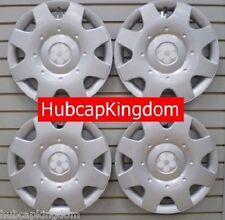 "1998-2009 VW BEETLE 16"" WHITE DAISY FLOWER Hubcap  Hub cap Wheelcover SET"