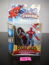 NEW! MARVEL ULTIMATE SPIDER-MAN POWER WEBS ROCKET RAMP SPIDERMAN 2012 A1528 A8-8