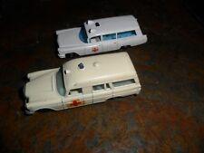 """2 LOT MATCHBOX SERIES Nº 3 MERCEDES BENZ  """"BINZ"""" AMBULANCE LESNEY & #54 Cadillac"""