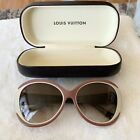 Louis Vuitton Tri Colored Acetate Frame Angelica Sunglasses Z0519W CASE