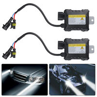 2pcs Universal Car HID Xenon Ballast 55w DC12V Slim Replacement Ballasts H1 H4