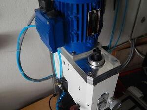 Umbausatz für Optimum BF20 auf Direktantrieb mit Zahnriemen und Drehstrommotor