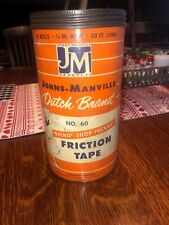 Johns Manville  - Dutch Brand - Friction Tape - Canister-#60 Rhino Shop Package