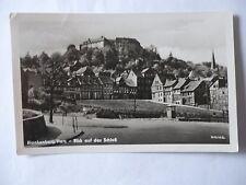 Ansichtskarte Blankenburg Harz Blick auf das Schloß 1955